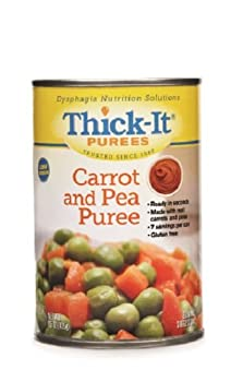 MCK30032601 - Kent Precision Foods Puree Thick-It 15 oz. Can Carrot and Pea Ready to Use Puree