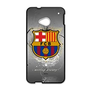 Happy Fc Barcelona Logo Cell Phone Case for HTC One M7