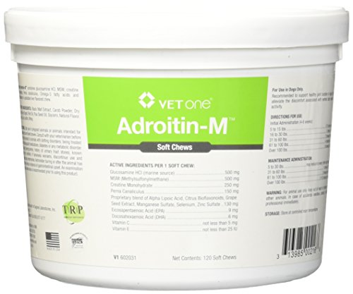 Vet One Adroitin-M Joint Soft Chews for Dogs - 120 Chews