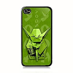 Star Wars Master Yoda Origami Art Custom Case Cover Custom iPhone for iPhone 5 5s protective Durable case