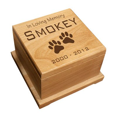 GiftsForYouNow Memorial Engraved Wooden Pet product image