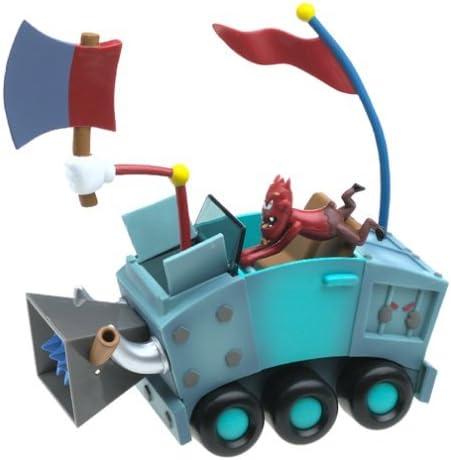 EA Games 2002 Joyride Studios Cel Damage Action Figure  Sinder GamePro