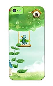 Iphone 5c Cover Case Design - Eco-friendly Packaging(cartoon Birds )