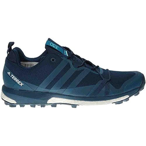 Adidas Outdoor Mens Terrex Agravic Blu Notte / Mistero Benzina / Scarpa Sportiva Bianca