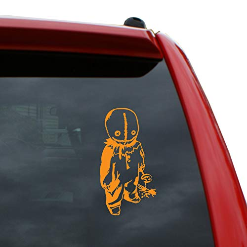 Black Heart Decals & More Trick 'r Treat - Sam Vinyl Decal Sticker | Color: Orange | 5