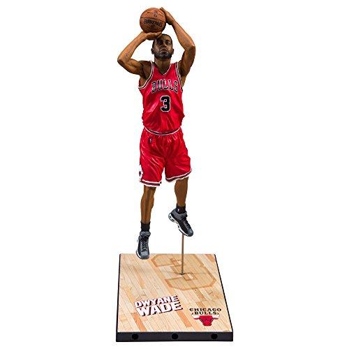 McFarlane Toys NBA Series 30 Chicago Bulls Dwayne Wade Action Figure