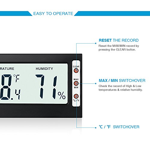 Indoor-Humidity-Thermometer-Monitor-Sensor-Amir-Digital-Thermometer-Hygrometer-and-Humidity-Gauge-Accurate-Readings-CF-MinMax-Records-For-Cars-Home-Office