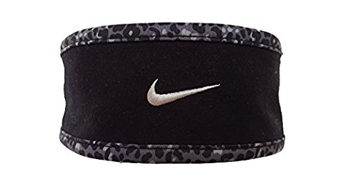 Nike Run Lotus Headband (Black) (Nike Reversible Headband)