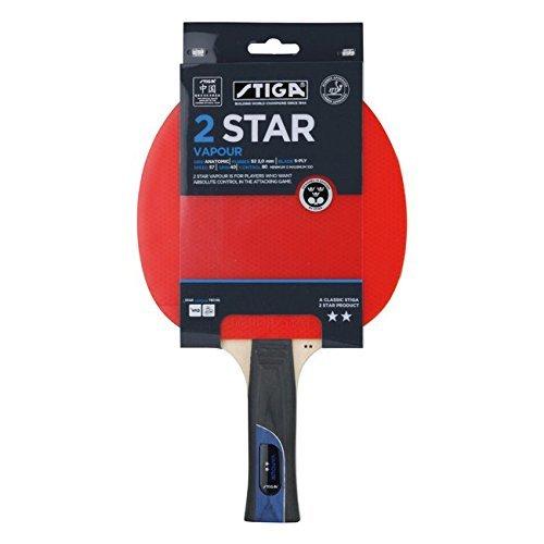 Stiga 2 Star Vapour Table Tennis Bat by Stiga by Stiga