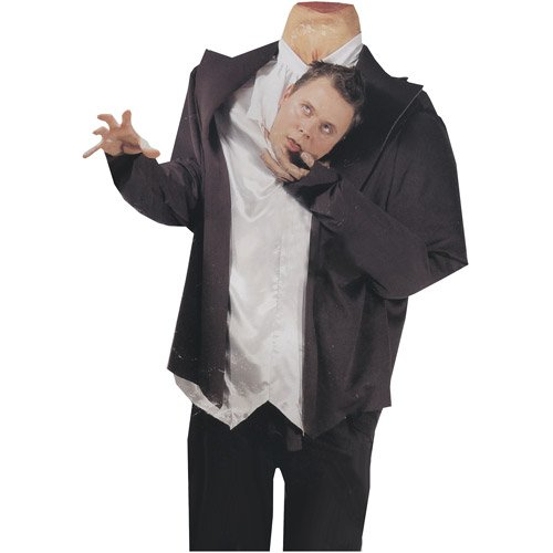 [HEADLESS GHOST HEAD HOLDER] (Headless Ghost Costume)