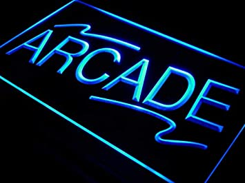 ADVPRO Arcade Shopping Center Shop LED Neon Sign Blue 24 x 16 Inches st4s64-i427-b