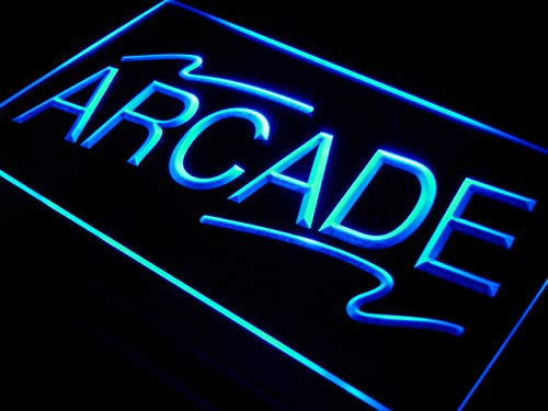 Cartel Luminoso ADV PRO i427-b Arcade shopping Center Shop NEW Neon Light Sign
