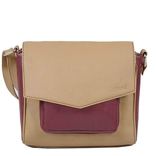 London Lapis Design Sling Lupo tascabile Bag multifunzionale donna O Beige da Beau A4r4qwE
