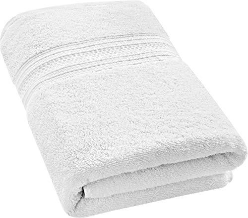 Utopia Towels 700 GSM Premium Cotton Extra Large Bath Towel (35 x 70 Inches) Soft Luxury Bath Sheet - White