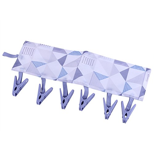 Folding Plastic Clothing Hangers with Removable Clips Collap