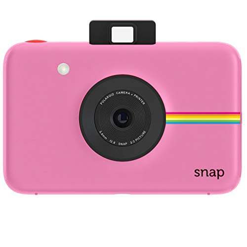 - Polaroid Snap Instant Digital Camera (Pink) with ZINK Zero Ink Printing Technology