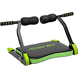 Merax Abdominal Exercise Trainer AB Fitness Machine Total Body Workout Home Gym Equipment