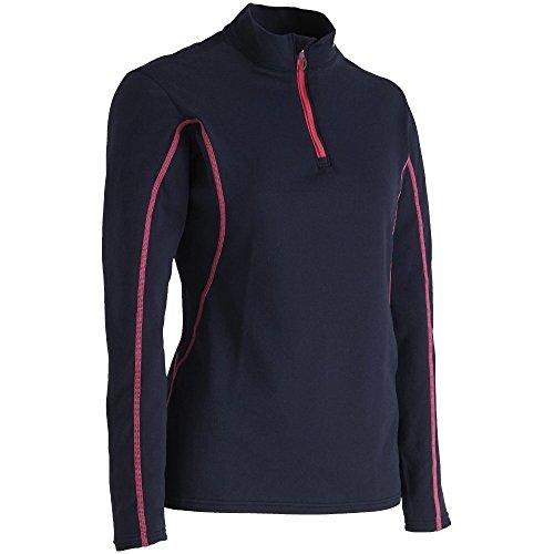 警報本土足MIZUNO(ミズノ) スキーウェア レディース ブレスサーモ エブリプラス ハーフジップシャツ Z2MA7425