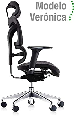 Silla ergonómica de oficina Modelo Verónica. Cuida de tu ...