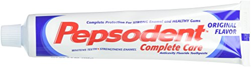 (Pepsodent Complete Care Anticavity Fluoride Toothpaste, Original, 6 Count)