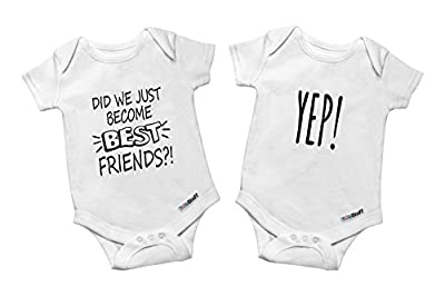 Twin Outfits for Girls & Boys - Baby Bodysuits, Perfect for Newborn Twins