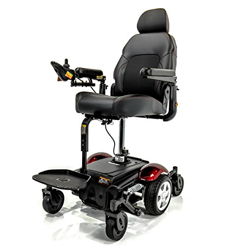 Merits VISION SPORT LIFT Power Elevating Seat Electric Powerchair P326D + Challenger Vinyl Cover