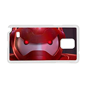 Printing Baymax Hard Plastic Back Phone Case For Teens For Samsung Galaxy Note4 Choose Design 2