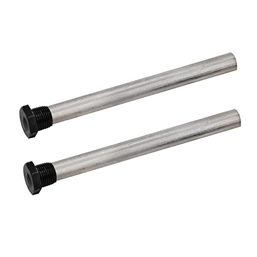 Quick Products 2PK Silver Standard QP-MAR9.5 Magnesium Anode Rod for Atwood 10 Gal Water Heaters (Repl 11593) -9.5