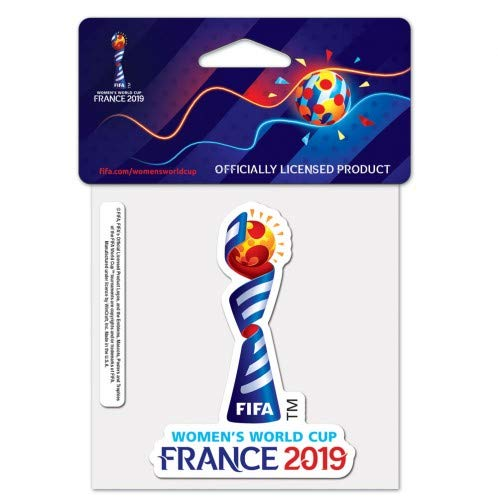 WinCraft FIFA Womens World Cup Soccer Perfect Cut Color Decal 4
