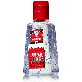 Amazon.com : Too Many Cookies Santa Pocketbac - Vanilla Cookie Scent - Discontinued Bath & Body ...
