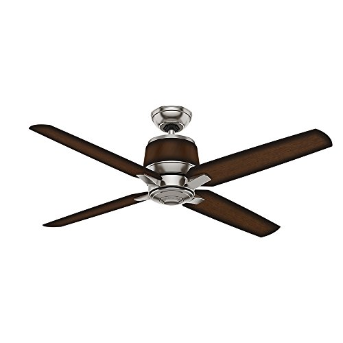 Casablanca 59123 Aris 54-inch Brushed Nickel Ceiling Fan with Mayse Blades