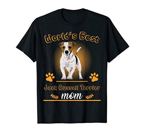 Jack Russell Terrier World's Best Mom TShirt Dog Mother's