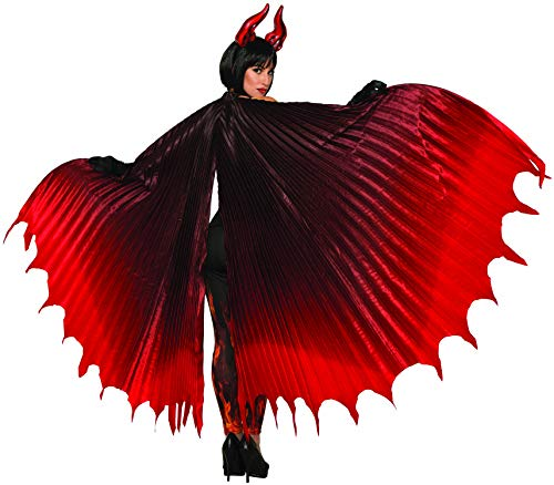 Forum Novelties Devil Theatrical Demon Wings, Red, Standard