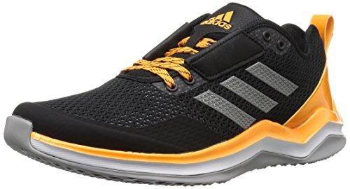 Adidas Heren Freak X Carbon Mid Cross Trainer Zwart / Ijzer / Collegiaal Goud