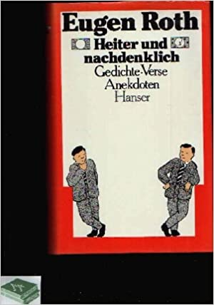 Heiter Und Nachdenklich Verse Gedichte Anekdoten German