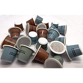 debuencafé. 50 Cápsulas Compostables de Café Ecológico Descafeinado. Compatibles con Nespresso ®