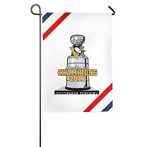 - Atoggg Pittsburgh Penguins Home Flags/House Flags/Garden Flags 12*18inch / 18*27inch