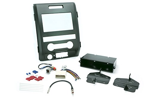 (Install Centric ICFD7BN Ford 2009-12 F-150 XL (Base) Pickup Complete Installation Solution for Car Stereos )