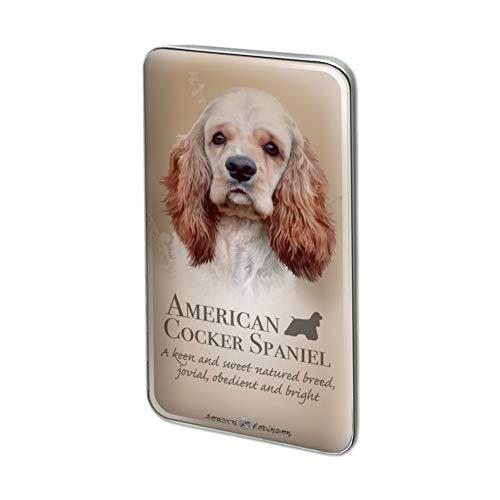 GRAPHICS & MORE American Cocker Spaniel Dog Breed Metal Rectangle Lapel Hat Pin Tie Tack Pinback
