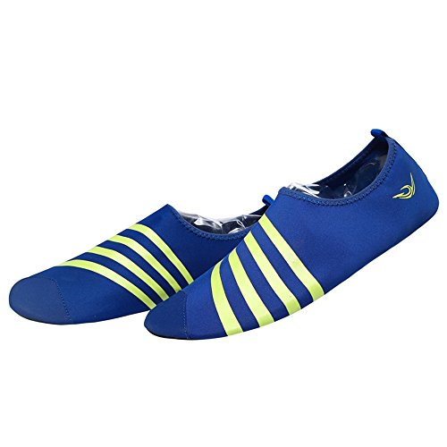 Nasonberg Skin Unisex Drying Shoes Water Barefoot Beach Aqua Swim Shoes Water Blue for Yoga Socks Quick Surf RpxnFS5w