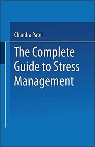 E scaricare il libro The Complete Guide to Stress Management by Chandra Patel PDF