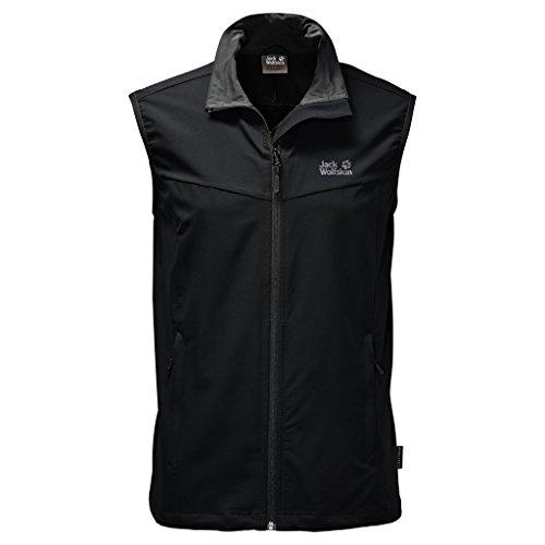 Jack Wolfskin Men's Activate Vest, Black, Medium