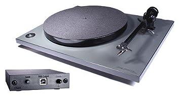 Rega RP 1 gris con tocadiscos Rega Fono Mini A2D (Phono ...