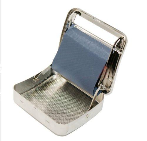 Automatic Tobacco Roller Box Cigarette Rolling Machine Case Metal 70mm ZIG ZAG