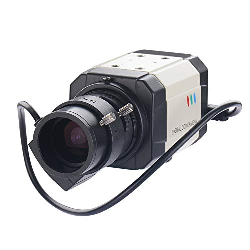 Vanxse Cctv mini 1/3 Sony Effio CCD 960h Auto Iris 1000tvl 2.8-12mm Varifocal Lens Bullet Box Security Camera Surveillance Camera 12mm Varifocal Auto Iris