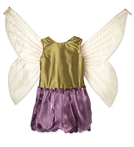 Magic Cabin IMAGINING Me Fairy Dress Up Costume Dresses With Wings - Size 4/5 Woodland -