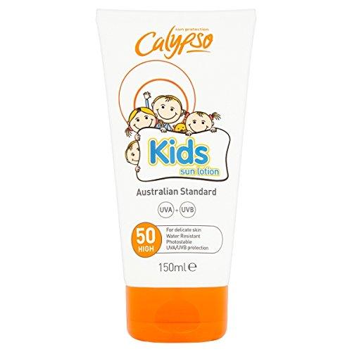 (PACK OF 3 - Calypso Kids Sun Lotion Spf50 (150ML))