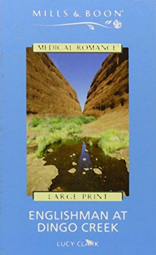 book cover of Englishman at Dingo Creek