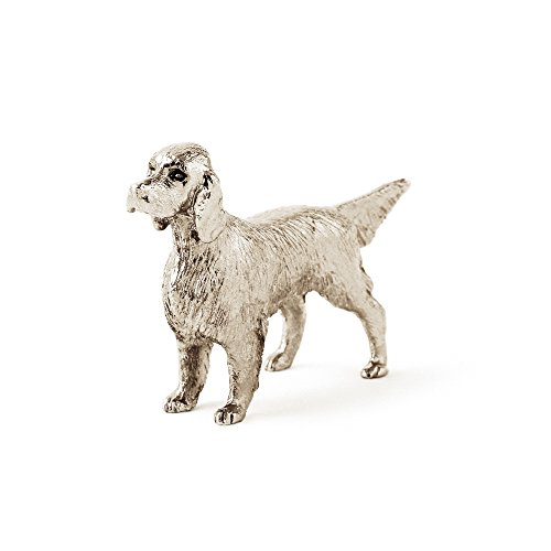 English Setter Made in UK Artistic Style Dog Figurine - Figurine English Setter Dog