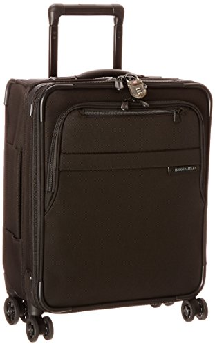 Briggs & Riley Baseline International Carry-On Expanadable Wide-Body Spinner, Black, One Size